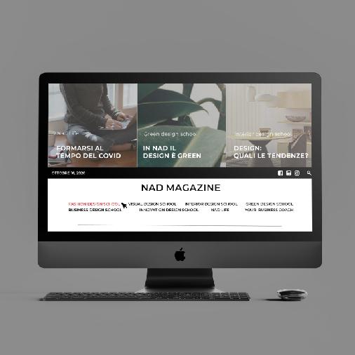Agenzia Comunicazione Nad Megazine in Whizzy Communication Design Verona