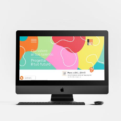Agenzia Marketing Nad Megazine in Whizzy Communication Design Verona